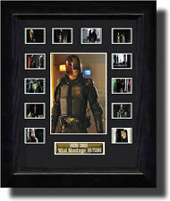 DREDD 3D Montage filmcell , Signed by Karl Urban, , fc2060