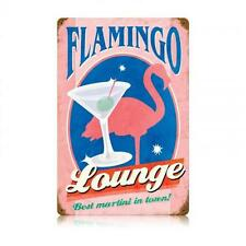 Martini Flamingo Lounge Club House Metal Sign Restaurant Bar Pub Tavern v193