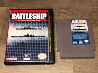 Battleship w/Case Nintendo Nes Cleaned & Tested Authentic