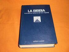 la bibbia nuovissima versione dai testi originali edi paoline 1993