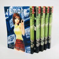 Remote, Vols. 1-5 Tokyopop manga, English