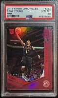 2018 Trae Young Panini Chronicles Elite PINK #272 Rookie RC - PSA 10 Pop 29 📈