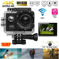Wifi Sports Action Camera Waterproof DVR Video Recorder Helmet Camcorder Full HD