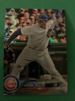 ANTHONY RIZZO 2018 Topps Chrome Refractor #49 SP Parallel Chicago Cubs