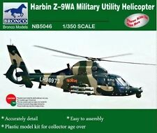 Bronco 1/350th Scale Harbin Z-9WA Military Utility Helicopter Kit No. NB5046