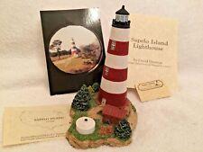 Harbour Lights 239 Sapelo Island, Ga Lighthouse, Coa, Box. C 1999 Low Number