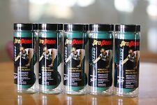 PENN Racquetball GREEN BALLS 5  3-ball CANS, a total of 15 balls, PRO PENN GREEN