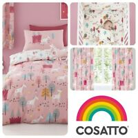 Cosatto UNICORN LAND Baby Childrens Kids Bedroom Set Duvet Cover Grow Bag Girls