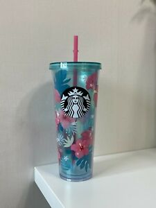 STARBUCKS Korea 2018 Summer Hibiscus Cold Cup 710ml Limited Edition Used