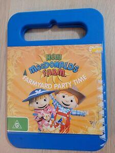 New MacDonald's Farm Farmyard Party Time DVD Region 4 PAL