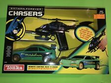 """1995 BATMAN FOREVER CHASERS """"HELICOPTER & CAR CHASE"""" REMOTE CONTROL TONKA $50"""