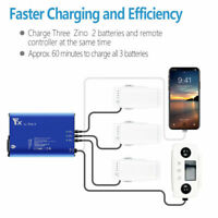 6 IN 1 Battery Charger RC Drone Multi Charging Hub For Hubsan Zino 2/ Plus drone