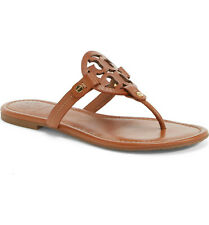Miller Sandal, Brown Leather: Women's Shoes Tory Burch