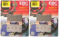 EBC Double-H Sintered Metal Brake Pads FA379HH (2 Packs - Enough for 2 Rotors)