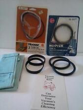 6 Hoover Vacuum Cleaner Belts Type Agitator Drive Part #49258 #12471 #160147 Vtg