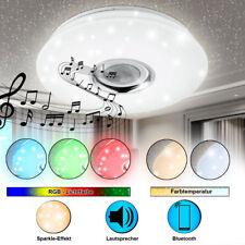 RGB LED Decken Bad Leuchte Bluetooth Sternen Himmel Lautsprecher FERNBEDIENUNG