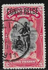 Belgian Congo stamps 1909 OBP 38B  CANC  VF