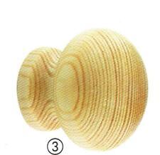 Möbelknöpfe - 1 Stück Kiefer lackiert Durchmesser 32mm Höhe 28mm