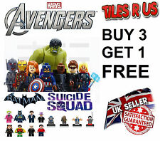 DC Marvel Minifigure Batman Avengers Spiderman Guardians Suicide Minifigures