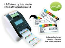 LINK LS820 LABEL PRINTER 7 DAY FOOD ROTATION PRINTER AND FREE LABELS