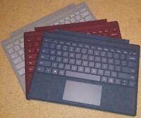 Microsoft Surface Pro Alcantara Signature Type Cover Keyboard for Pro 7, 6, 5, 4