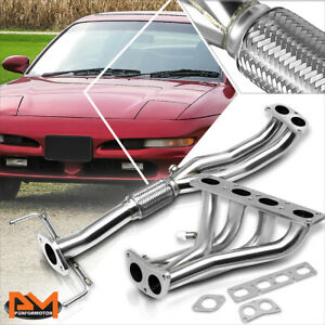 For 93-97 Ford Probe/Mazda MX6 2.0L 4CYL Stainless Steel 4-2-1 Exhaust Header