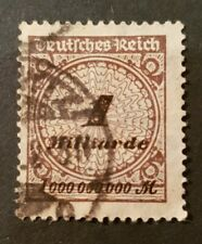 German Reich 1 Milliarde Stamp