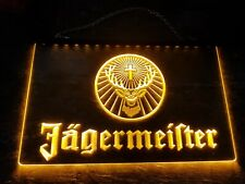 Jägermeister LED-Schild. Orange