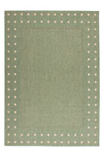 poil ras sisal Tapis moderne tressé aspect jute arrière olive Maïs NEUF 60x300