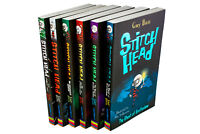 Stitch Head 6 Book Collection By Guy Bass, Stitch Head, The Beast of Grubbers Nu
