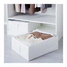 IKEA Skubb White Fabric Storage Container Box Ideas Wardrobe Drawers 69x55x19