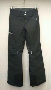 Patagonia Women's Black Insulated Snowbelle Ski Pants Short Size XXS New NWT
