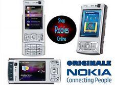 Nokia N95 Silver (Ohne Simlock) Smartphone WIFI 3G 5MP BLITZ GPS Finland NEU