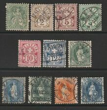 Handstamped Decimal European Stamps