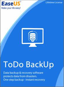 EaseUS Todo Backup 13.2 Iifetime Key