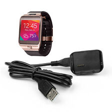 Smart Watch Charger Dock Charging Cradle for Samsung Galaxy Gear 2 SM-R380 Black