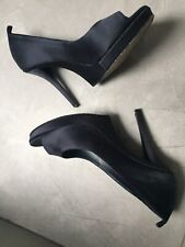 Ysl Blue Heels 39,5 Uk 5, Can Be Worn Wirh Ties, Party, Fab!