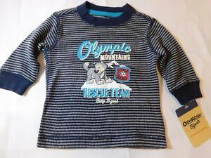 Osh Kosh B'Gosh Boy's Baby Long Sleeve waffle T Shirt Size Variation Rescue Team