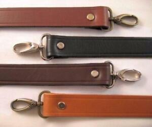 """1"""" Cowhide Leather Shoulder Purse Handbag Replacement Handle Strap -  4 Colors"""