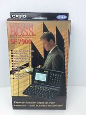 Casio SF-7900 Executive BOSS Organizer Scheduling System 128kb PC SYNC Vintage