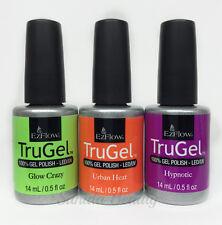 EZFlow Nail TruGel- SET OF 3 bottles- Choose any Color/Bond-It-On/Base/Top 0.5oz
