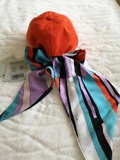 Emilio Pucci Hat Orange