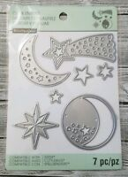 Recollections Constellations 7 Dies Cut And Emboss 542700 Moon Stars Celestial