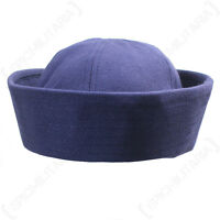 US Navy BLUE SAILOR CAP - All Sizes WW2 Repro Dixie Cup American Naval Hat