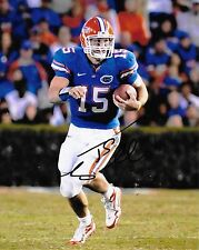 Florida Gator Tim Tebow Autographed 8x10 Photo (Reproduction)