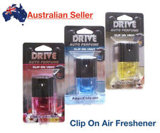Car Perfume Luxury Elegant Vent Clip On Air Freshener Scent Square Auto Vehicle