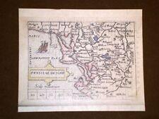 Mappa Prussia Theatrum Orbis Terrarum 1724 Abraham Ortelius Ortelio Ristampa