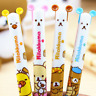 Hot 2PC Cute Rilakkuma Bear Ball Pen Stationery Ballpoint Office Study Tool Lot