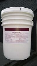 5 GALLON LIQUID ENZYMES LIFT STATION DEGREASER INDUSTRIAL STRENGTH EPA APPROVED