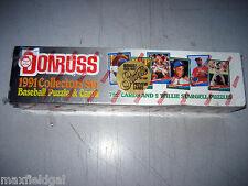 baseball 1991 Donruss 792-card set - includes Leaf Previews Surprise bonus cards